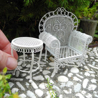 Sofa Chair & Table, Set of 2
