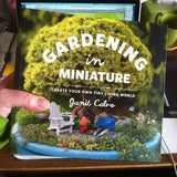 Custom Miniature Garden Kit, Book & Shipping Included!