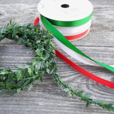 Miniature Decorations: Ribbon & Holly Set of 4, Wide