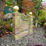 Miniature Garden Folly - Aged Wall