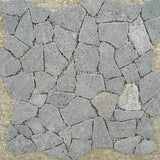 Gray Speckled Flagstone Patio Sheet