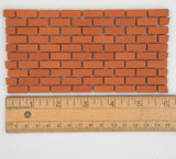 Miniature Brick Sheet, Rectangular