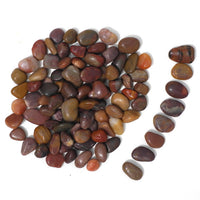 Polished Pebbles, Montana Red Tumbled Stone