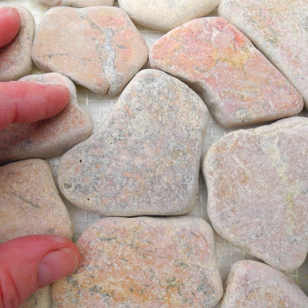 Pink Flagstone Patio Sheet