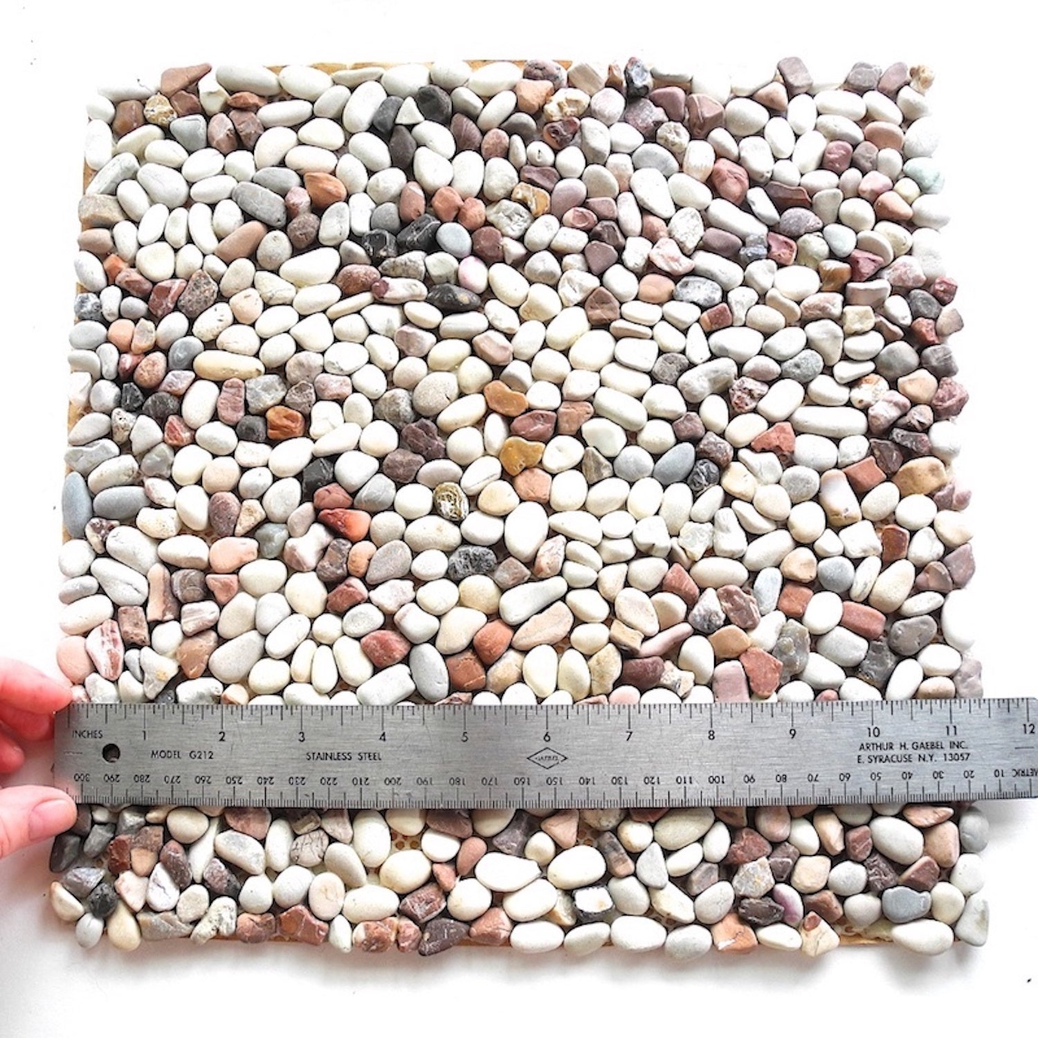 Chocolate Chip Stone Patio Sheet
