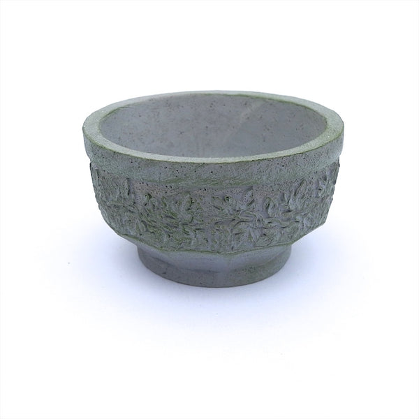 Gray Grapevine Water Garden Bowl or Planter