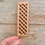Mini Cedar Trellis, Small, Staked