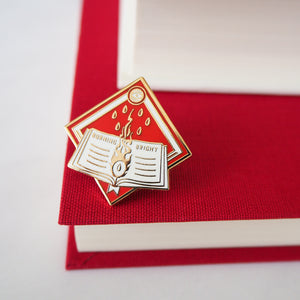 Burning Bright Enamel Pin - Dystopian Collection