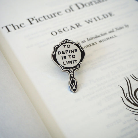 The Picture of Dorian Gray Enamel Pin - Gothic Literature Collection