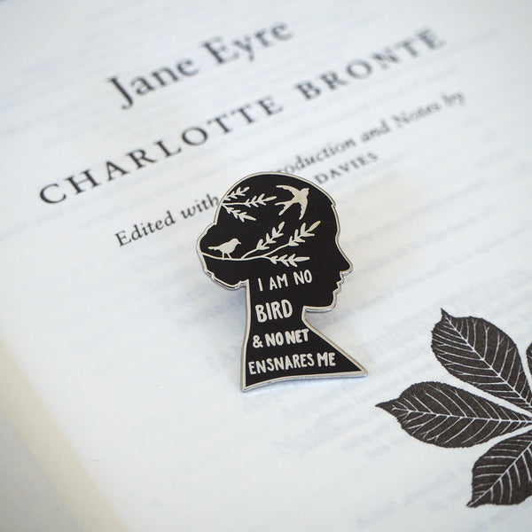 Jane Eyre Enamel Pin - Gothic Literature Collection