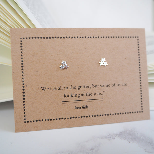 Oscar Wilde Star Earrings
