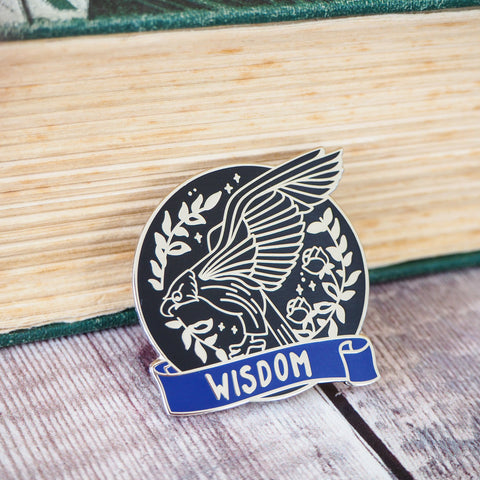 Wise Eagle - Magical House Enamel Pin Collection