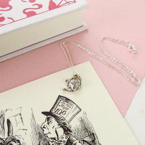 Alice In Wonderland Teapot Necklace - Literary Emporium