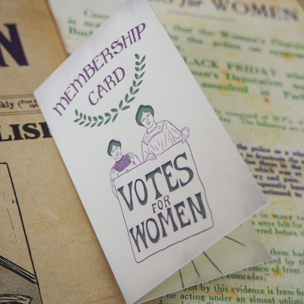 Votes for Women Rosette Enamel Pin - Votes for Women Collection