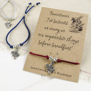 Alice in Wonderland Friendship Bracelet - Literary Emporium