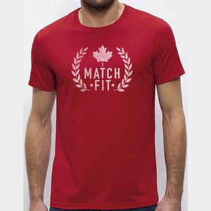 Canadian T-Shirt, Match Fit Canada Tee