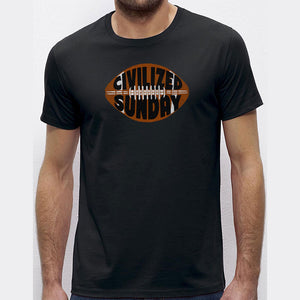 Civilized Sunday T-Shirt, American Football Tee