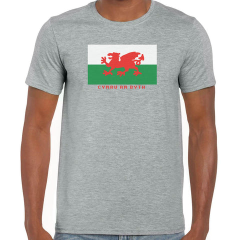 Welsh 8 bit T-Shirt
