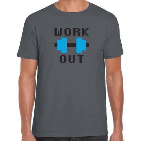 Work out 8 bit T-Shirt