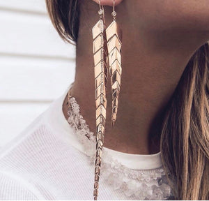 Fishtail Earrings