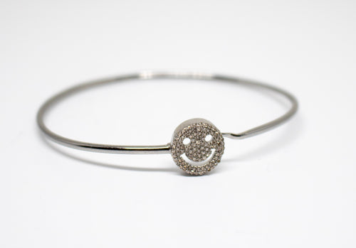 Smiley Face Bangle