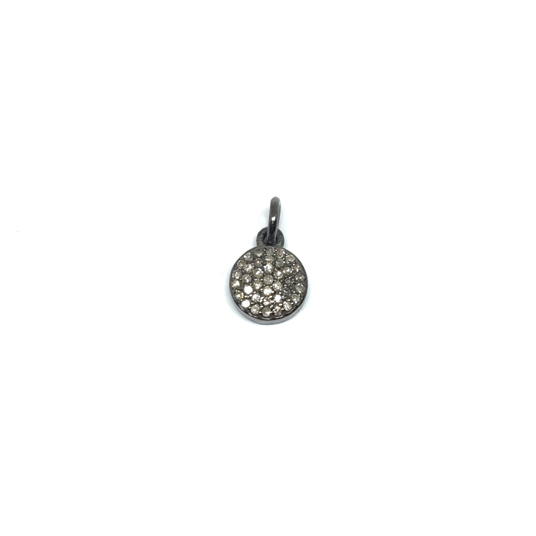 Small Diamond Disc pendant
