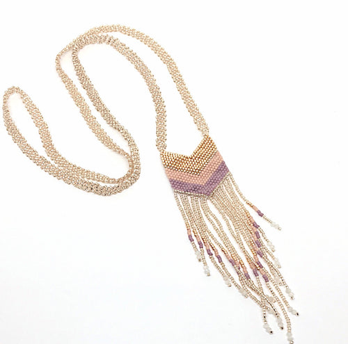 Nakawe Fringe Necklace Small