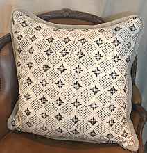 Large African Mudcloth Pillow
