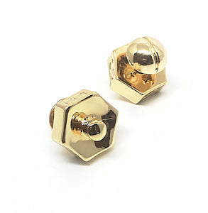 Screw and Bolt Stud Earrings