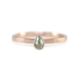 Alternative Diamond Ring
