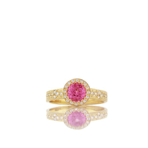 Pink Spinel Floret Memories Ring