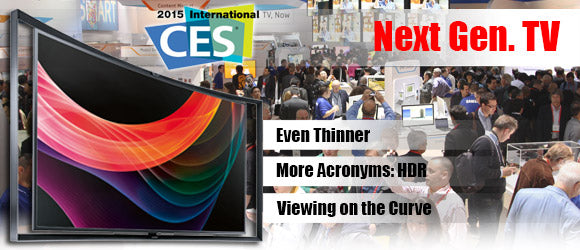 CES TV's Leave 4K Behind