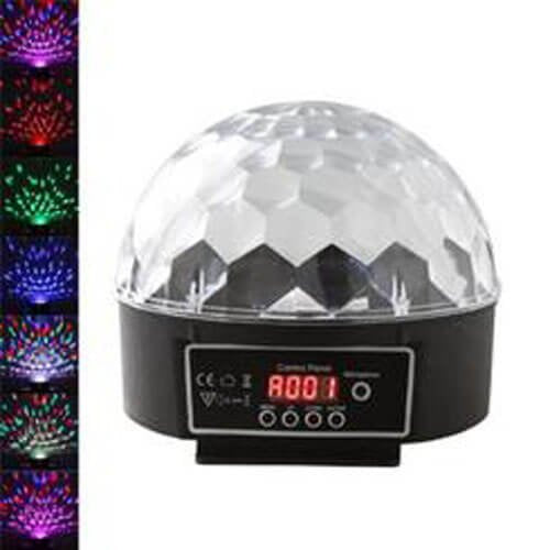 Mr. Dj PARTYDOME PARTYDOME Patron Pro Audio 20 Watt LED Crystal Magic Ball Stage Lighting