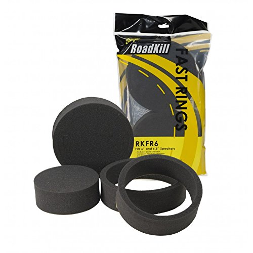 "Road Kill RKFR6 3 Piece Foam Speaker Enhancer System Kit for 6"" & 6.5"" Drivers"