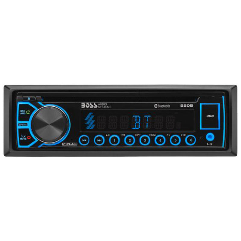 Boss 550B Single DIN Bluetooth CD Car Stereo Receiver