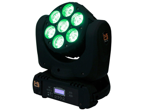 Mr. Dj LMH700 4-in-1 RGBW LED Beam Wash Lamp Moving Head Light DJ Show Stage Lighting