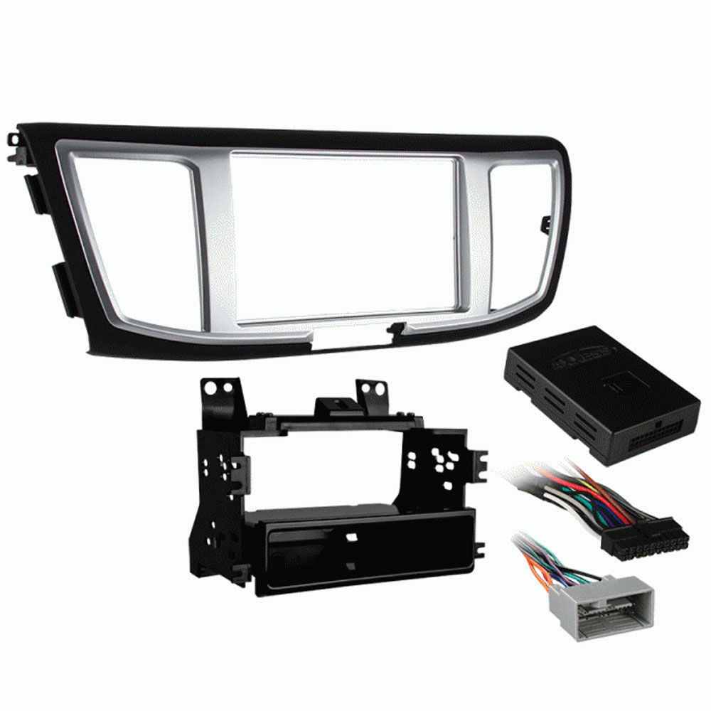 Metra 99-7804HG Single/Double DIN Dash Kit for Select 2013 - Up Honda Accord Vehicles with Wiring Harness Included