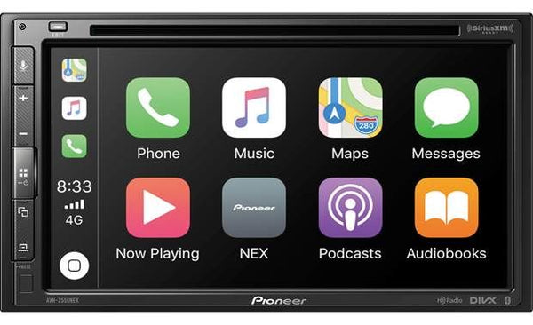 Pioneer AVH-2500NEX Double DIN In-Dash DVD/CD Car Stereo