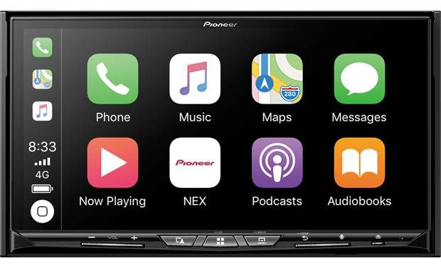 "Pioneer AVIC-W8500NEX Wireless Apple CarPlay & Android Auto Wireless Double DIN In-Dash DVD/CD Car Stereo Receiver with a 7"" Touchscreen and WEBLINK"