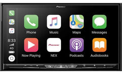 Pioneer AVIC-W8500NEX Wireless Apple CarPlay & Android Auto Wireless Double DIN In-Dash DVD/CD Car Stereo Receiver with a 7