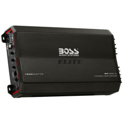 Boss Audio Elite BE1600.2 1600W Peak (750W RMS) Elite Series Class-AB 2-Channel Amplifier with Remote Bass Knob