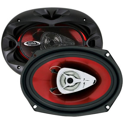 "Boss CH6920 350W Max 6x9"" 2-Way Chaos Series Coaxial Speakers"