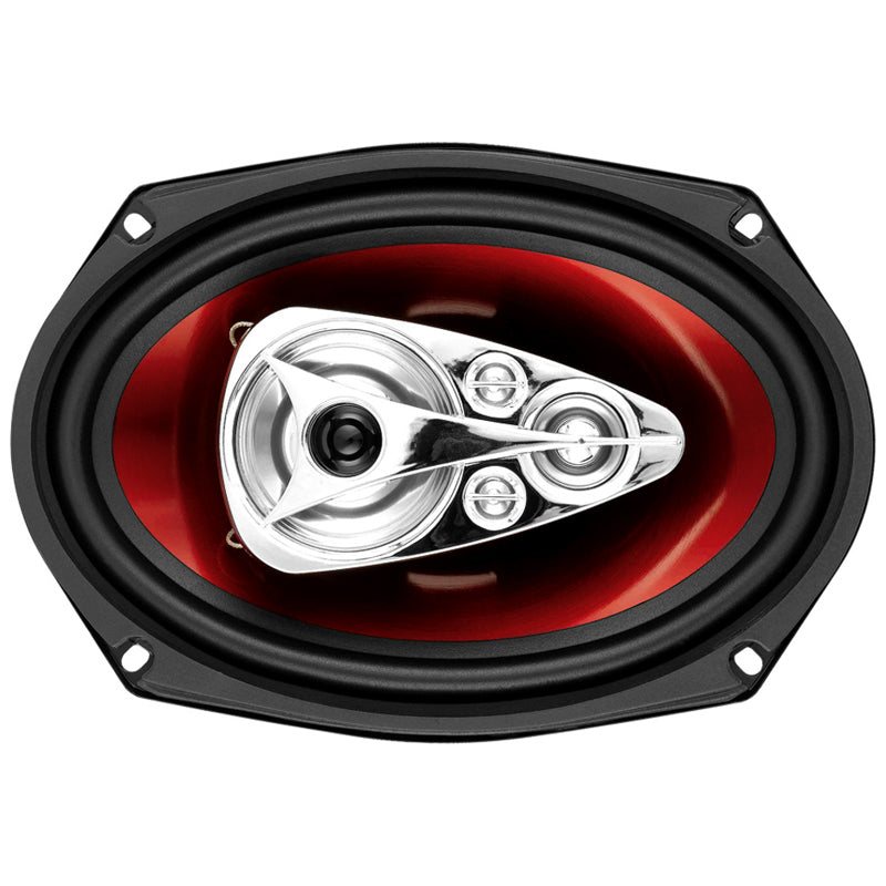 "Boss CH6950 600W 6x9"" 5-Way Chaos Series Coaxial Speakers"