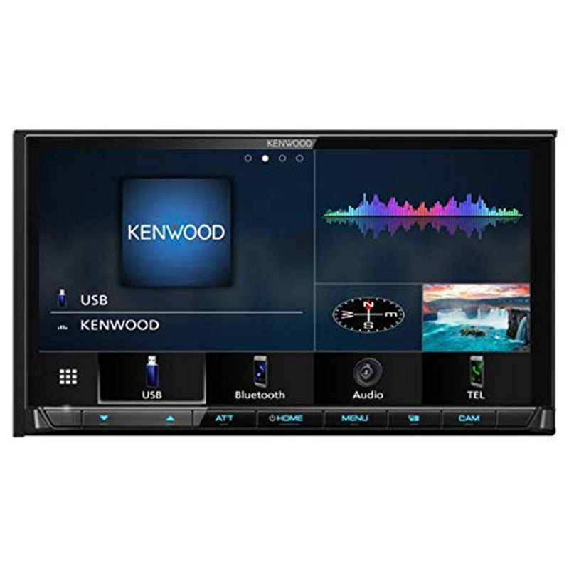 Kenwood DMX9706S 6.95 Inch Digital Multimedia Receiver with Wireless CarPlay