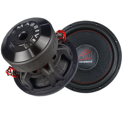 Massive Audio HIPPOXL122 12 Inch 4000W Max (2000W RMS) Dual 2 Ohm Car Audio Subwoofer