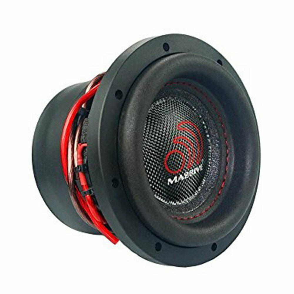 "Massive Audio HIPPO XL 84 1400W Max (700W RMS) 8"" HIPPO XL Series Dual 4 Ohm Car Subwoofer"