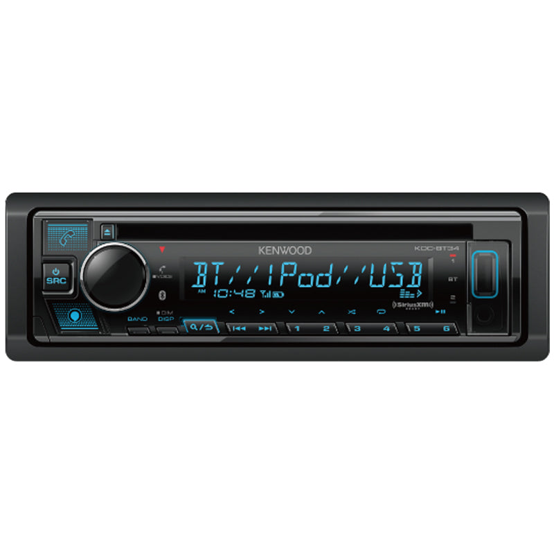 Kenwood KDC-BT34 CD Receiver with Bluetooth