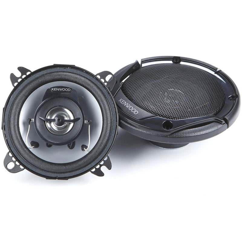 "Kenwood KFC1056S 440W Max (42W RMS) Sport Series 4"" Dual Cone Coaxial Car Speakers"