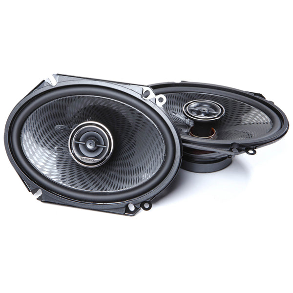 "Kenwood KFC-C6896PS 6x8"" Oval Custom Fit 2-way Speaker System (360W Max Power)"