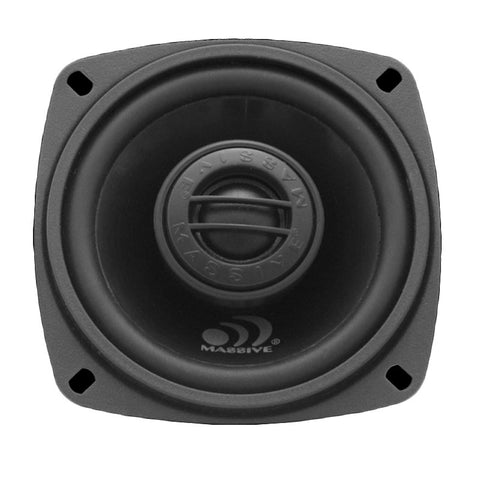 "Massive Audio MX3 100W Max (50W RMS) 3"" MX Series 2-Way Coaxial Car Speakers"